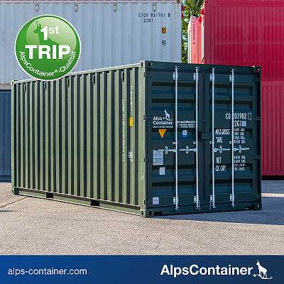 20ft (6m) Seecontainer / Lagercontainer / Container, first trip