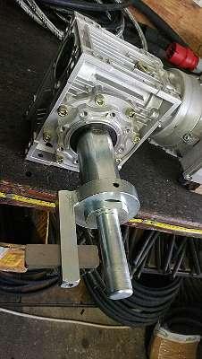 Hydraulikschlauch Schälmaschine