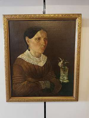 Biedermeier-Frauenportrait