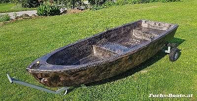 300 cm PE Boot Angelboot Futterboot Ruderboot Fischerboot Motorboot Beiboot Dinghy