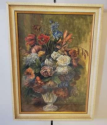 Mawiezek - Blumenstilleben in Glasvase