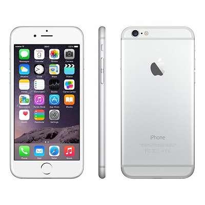 Apple iPhone 6 Plus 128 GB Silber Werksoffen Gebraucht TOPZUSTAND