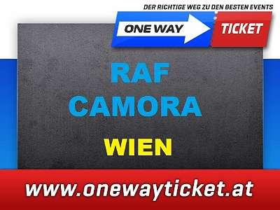 RAF CAMORA Wien STEHPLÄTZE Stadthalle * hier bestellen * 100 % Originalkarten