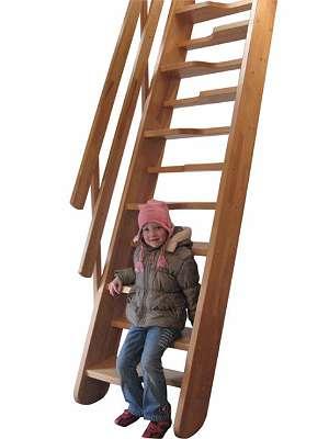 Holztreppe Bausatz Meran 2 - Abverkauf