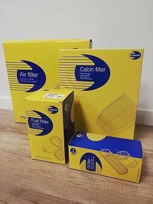 Filtersatz COMLINE: Ölfilter, Luftfilter , Inneraumfilter, Kraftstofffilter - 28 EURO
