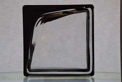Glasbaustein Boomerang 3D