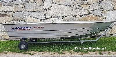 Aluboot Aluminiumboot Aluminium Boot Alaska Boot 350 S Angelboot Ruderboot Motorboot Fischerboot geschweißt