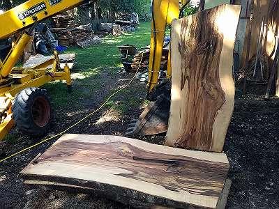 Tischplatten roh - Schnittholz, Baumscheiben, Pfosten, Bohlen