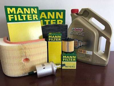 Ölfilter , Luftfilter , Innenraumfilter Man für VW Crafter