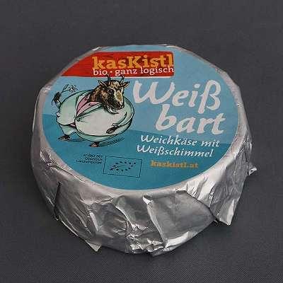 kasKistl – Bio-Weißbart Ziegencamembert