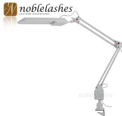 Kosmetik LED Lampe mit Klemmfuß (Tischlampe / Klemmleuchte)