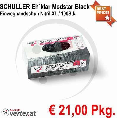 SCHULLER Eh´klar Einweghandschuh Nitril XL / 100Stk.
