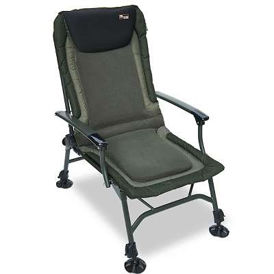 NGT Profiler Chair - Recliner System, Adjustable Legs, Fleece Lined with Arm Rests