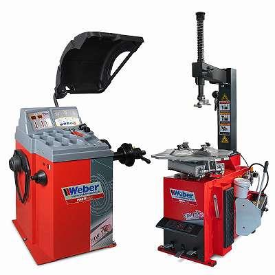 PROFI Reifenmontier- und Wuchtmaschine WEBER STM-102