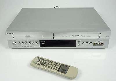 GPX VCD 6040 6-HEAD VHS VIDEORECORDER / DVD PLAYER + FB KOMBIGERÄT