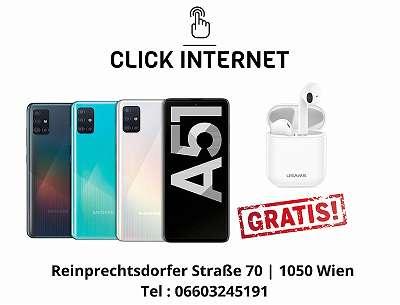 Samsung Galaxy A51 A515F/ DSN 128GB in Allen Farben/ Nagelneu, Org. Versiegelt/ Werksoffen, Frei Für Alle Simkarten