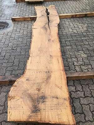 Eiche Schnittholz Eichenholz Bohlen Diele Tischplatte Nr. 29