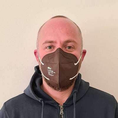 FFP2 Mund-Nasen-Schutzmaske BRAUN zertifiziert in Linz kaufen oder online bestellen