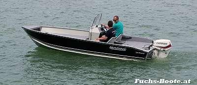 NEU - 530 F SC DLX - Motorboot Fischerboot Aluboot Angelboot Einsatzboot Feuerwehrboot exkl, Motor Bootsanhänger usw. Aluminiumboot