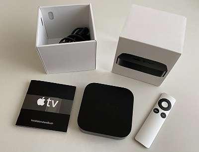 Apple TV 3. Generation inkl. HDMI-Kabel!