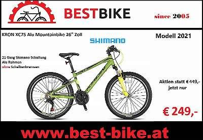 XC75 KRON ALU Mountainbike 26