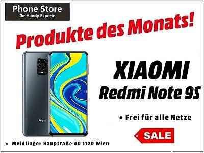 Xiaomi Redmi Note 9S interstellar grey 64GB /4GB RAM / Nagelneu, Org. Versiegelt/ Werksoffen, Frei Für Alle Simkarten/ Mit 12 Monate Hersteller Garantie/