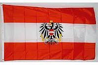 Österreich Fahne mit Adler