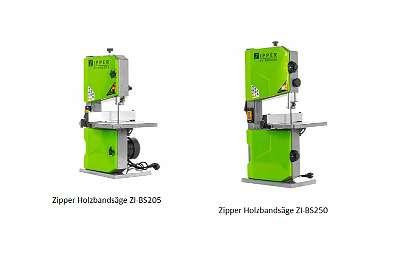Zipper Holzbandsäge ZI-BAS205 / ZI-BAS250
