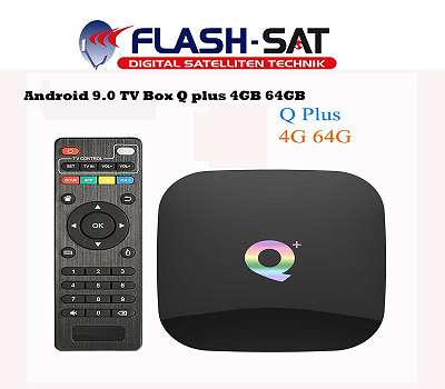 TV BOX MEIQ-IT Android 9.0 4GB/64GB - Quad-Core 64 Bit