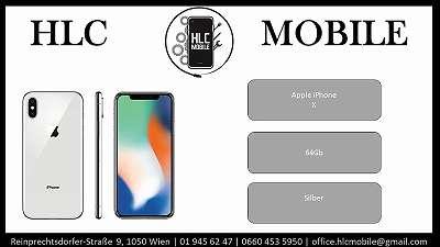 Apple iphone X - 64Gb Siber