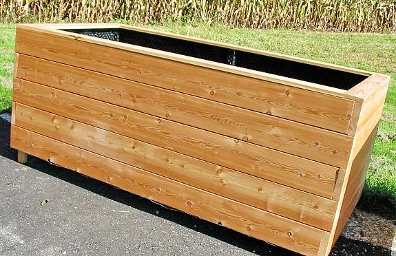 hochbeet lisa 100x200cm 35mm hochbeete kaufen aus l rchenholz auch im shop 269 4502. Black Bedroom Furniture Sets. Home Design Ideas