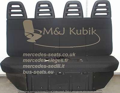 Iveco Daily Mercedes Sprinter Crafter Ford Transit Master 4er Sitzbank Bank Sitz Sitze