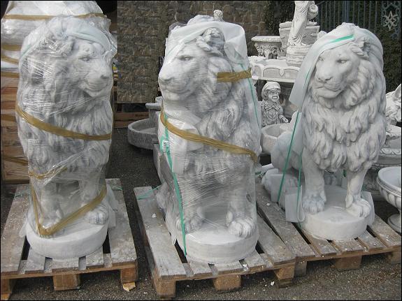 Steinfiguren springbrunnen gargoyles figuren statuen tiere for Steinfiguren garten tiere