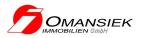 Omansiek Immobilien GmbH Logo