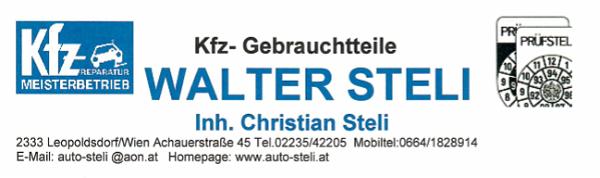 Kfz- Gebrauchtteile Walter Steli