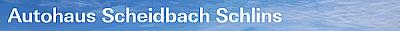 Logo von Autohaus Scheidbach OG