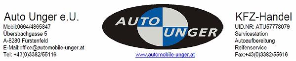 Automobile Unger