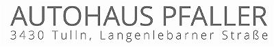 Logo von Autohaus Pfaller