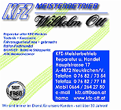 Logo von kfz-Meisterbetrieb Wilhelm Ott