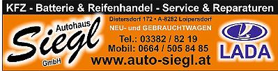 Logo von Autohaus Siegl GmbH