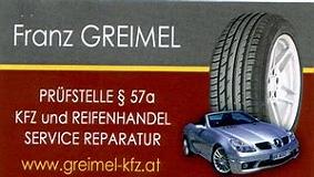 Logo von KFZ-Werkstatt Franz Greimel