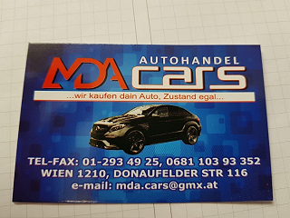 MDA Cars