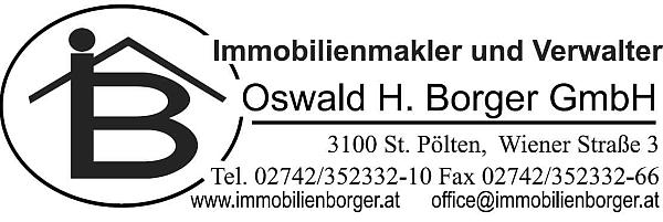 Oswald H. Borger / 3100 St. Pölten, Wienerstr. 3