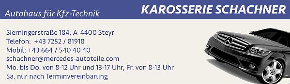Firma Schachner Karosseriefachbetrieb