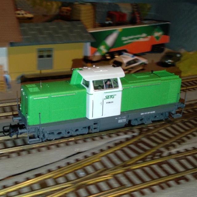 Eisenbahn-Sammler