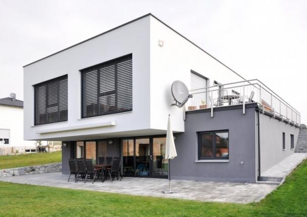 Architektenhaus flachdach und pultdach for Architektenhaus flachdach