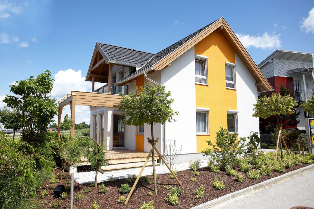 pin musterhaus blaue lagune scs2 vario haus fertighaus. Black Bedroom Furniture Sets. Home Design Ideas